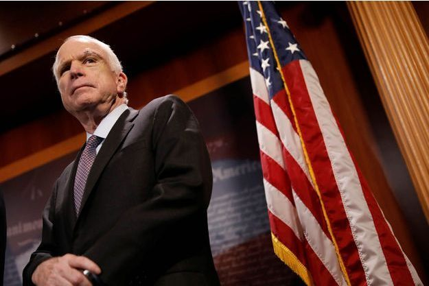 Le sénateur républicain a voté contre l'abrogation partielle de l'Obamacare.