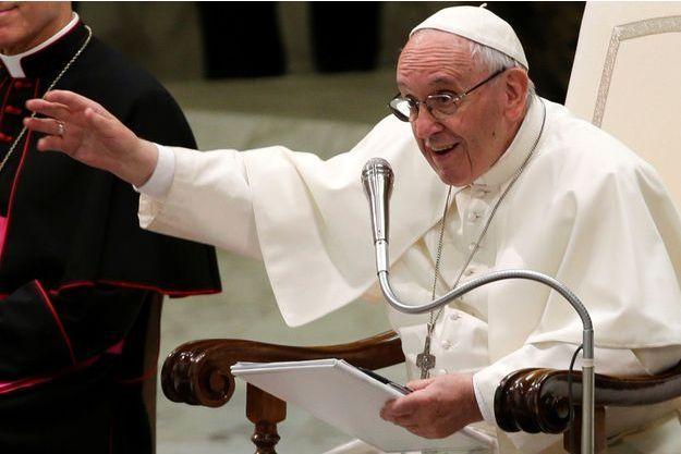 Le pape François ce vendredi.
