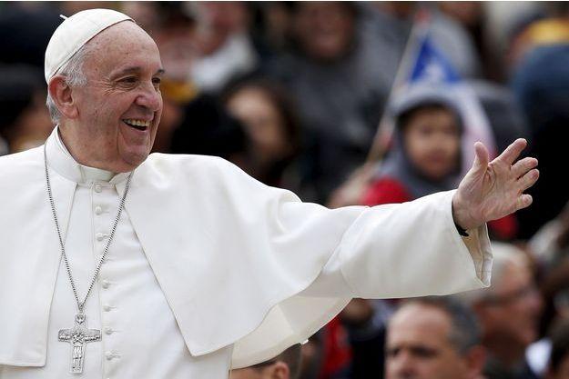 Le pape François est apparu en pleine forme ce mercredi.