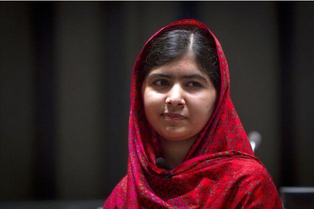 Malala, prix Nobel de la Paix, photographiée en août 2014.