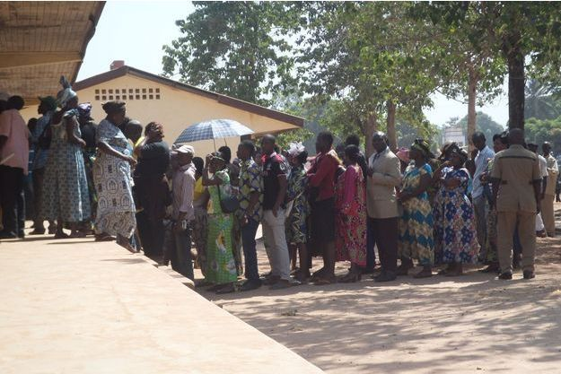 Les bureaux de vote ont ouvert ce mercredi matin en Centrafrique (image du referendum du 13 décembre dernier).