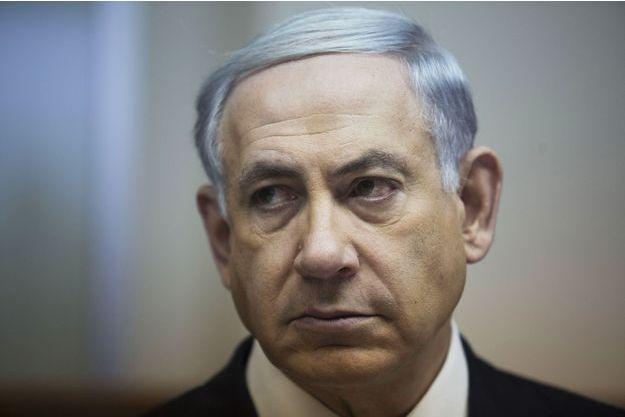 Benjamin Netanyahu, le Premier ministre israélien, photographié à Jérusalem le 15 février.