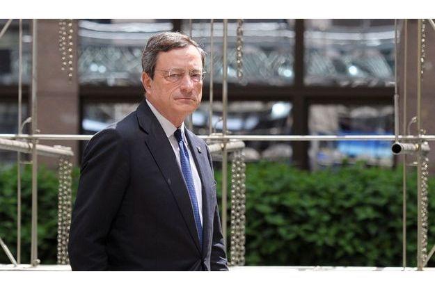 Mario Draghi à Bruxelles le 28 juin 2012