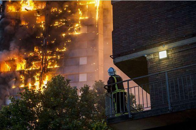 La Grenfell Tower a pris feu le 14 juin dernier.