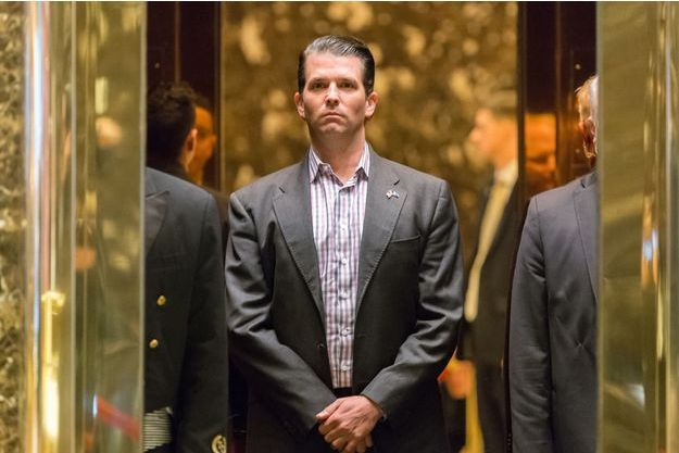 Donald Trump Jr à la Trump Tower, le 18 janvier 2017.