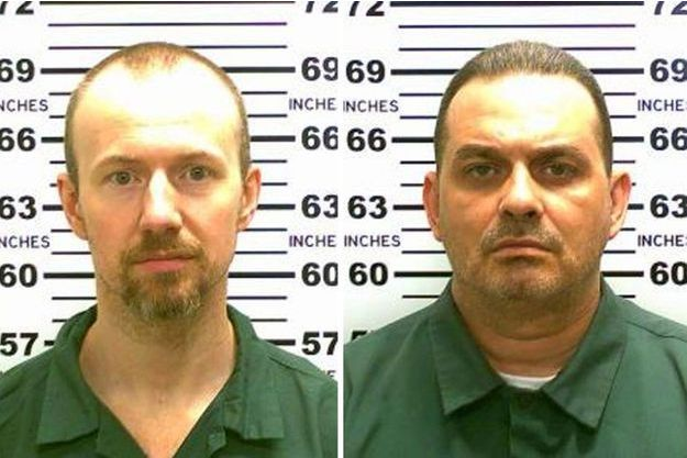 David Sweat et Richard Matt.