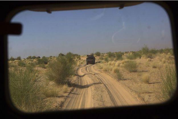 Photo d'illustration de soldats français déployés dans le cadre de l'opération «Barkhane», en l'occurrence au Mali.
