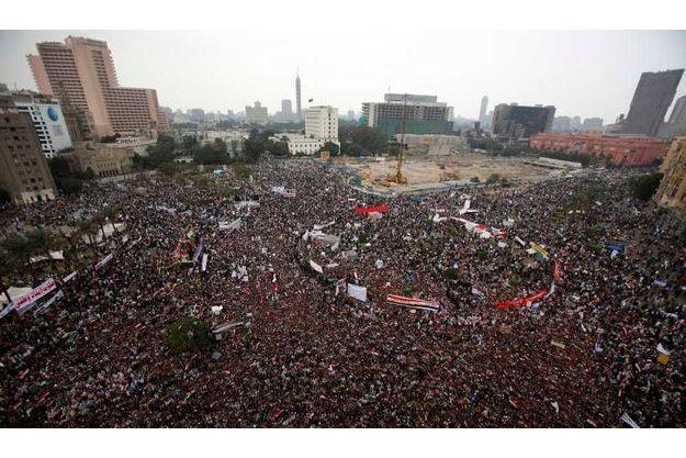 Manifestation place Tahrir, au Caire, le 18 novembre dernier.
