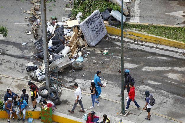 La colère est de plus en plus forte dans les rues de Caracas.