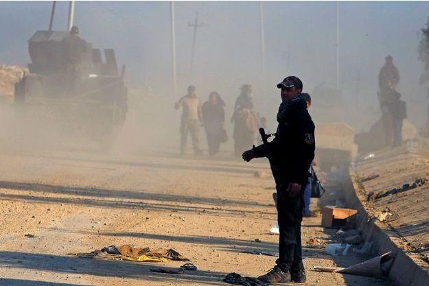 Les habitants de Mossoul ont été déplacés.