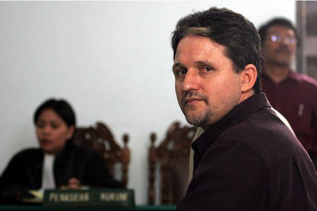 Marco Archer Cardoso Moreira en juin 2004, l'année de sa condamnation à mort.
