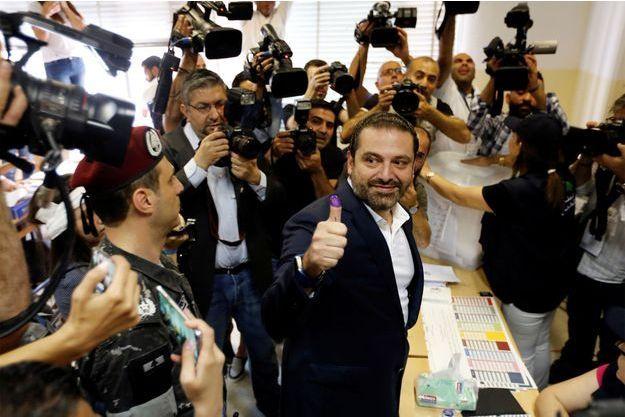 Le Premier ministre libanais Saad al-Hariri.