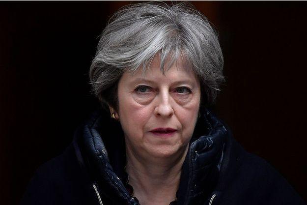 Theresa May le 14 mars 2018