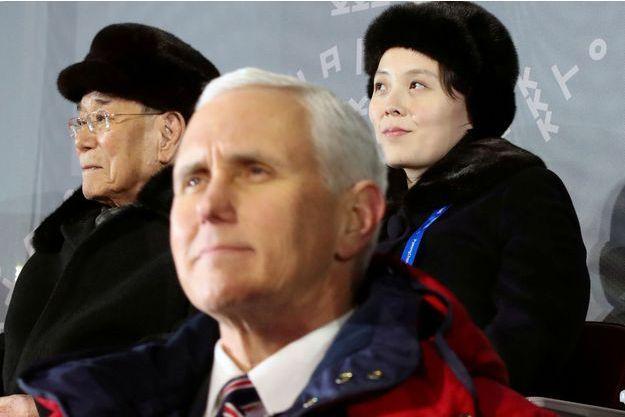 Mike Pence à la cérémonie d'ouverture des JO d'hiver.