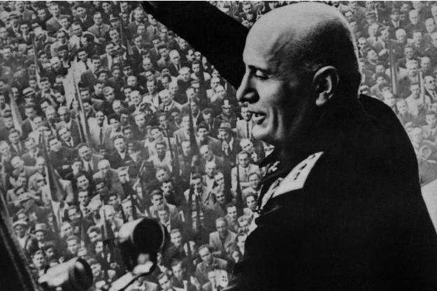 Le dictateur Benito Mussolini, en 1922.