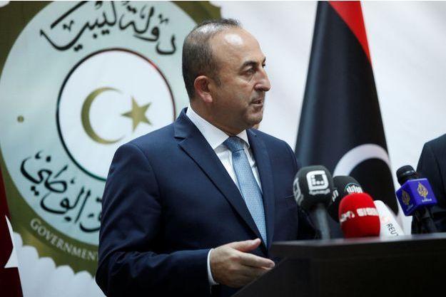 Mevlut Cavusoglu, le ministre turc des Affaires étrangères.