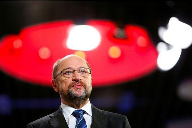 Martin Schulz, le patron du SPD, le 21 janvier 2018.