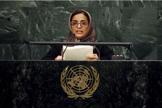 Lubna Al Qasimi aux Nations unies en septembre dernier.