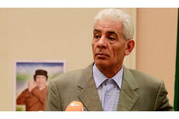 Moussa Koussa, en conférence de presse à Tripoli le 18 mars dernier