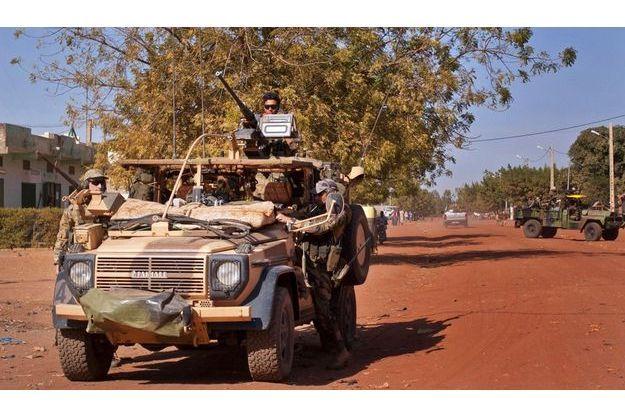 Les troupes françaises à Markala.