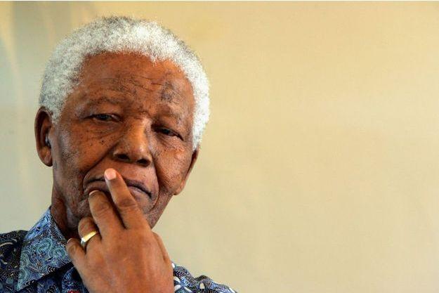 Nelson Mandela en 2005.