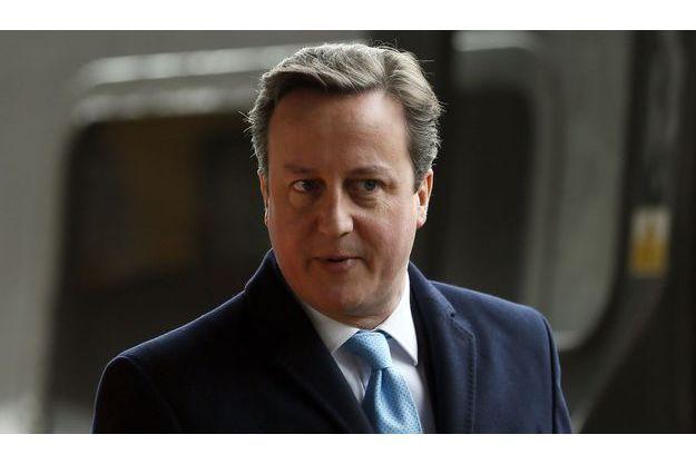 David Cameron, fin janvier.