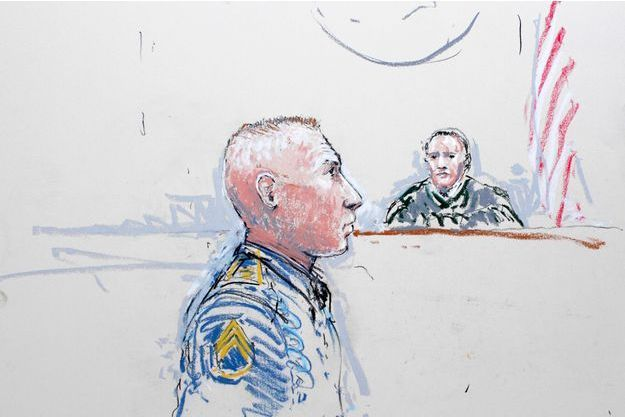 En janvier dernier, Robert Bales était présenté devant la cour à la base Lewis-McChord.