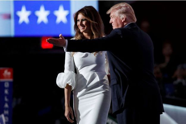 Donald et Melania Trump à Cleveland