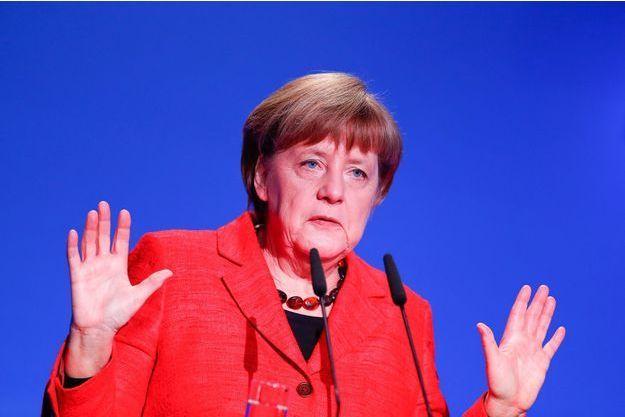 Angela Merkel, jeudi à Berlin.