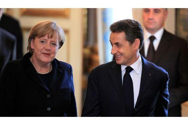 Lundi, pendant la conférence de presse commune à l'Elysée.