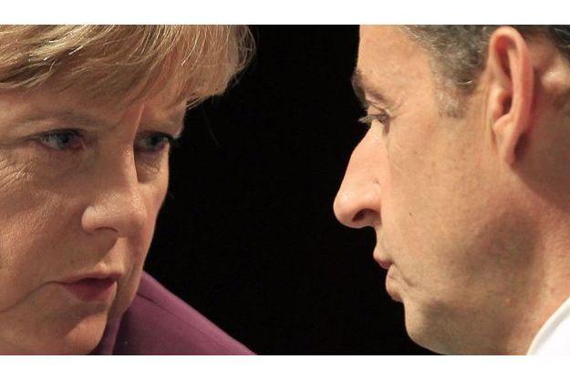 Angela Merkel et Nicolas Sarkozy