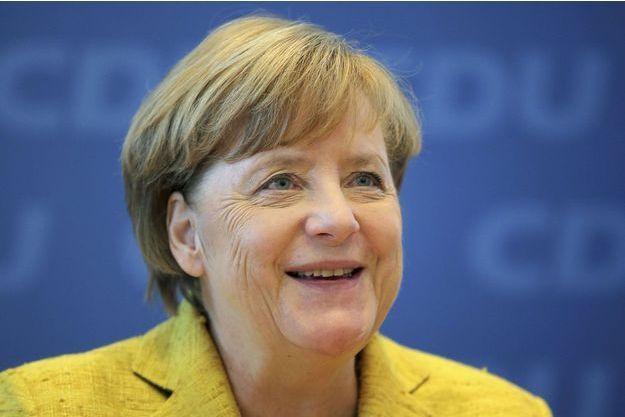 Angela Merkel, le 6 novembre 2017 à Berlin