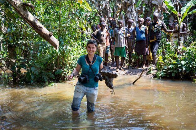 Novembre2013, en Centrafrique. Maryvonne, la mère de Camille, avait cette image en fond d'écran de son ordinateur.