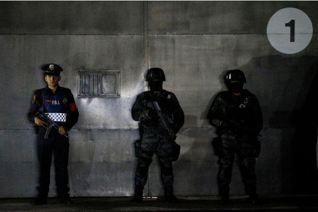 Juin 2016, force de l'ordres mexicaines. (Photo d'illustration)