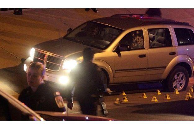 La voiture de la magistrate a été retrouvée criblée de balles.