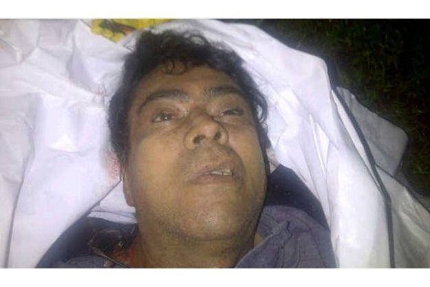 Photo d'Alfonso Cano mort, diffusée par l'armée colombienne.