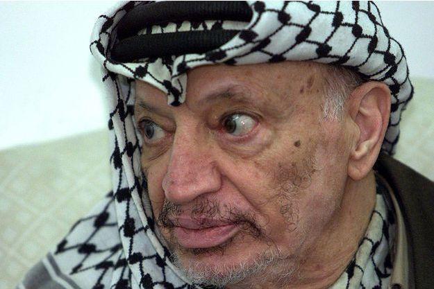 Yassar Arafat, photographié en 2002.