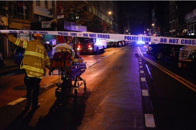 Vingt-neuf personnes ont été blessées dans une explosion à New York.