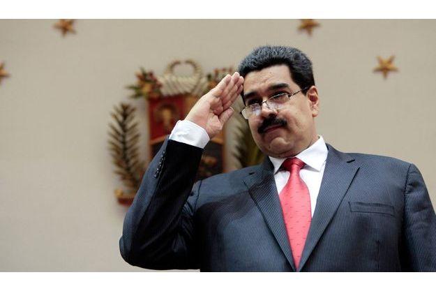 Nicolas Maduro en janvier dernier, à Caracas.