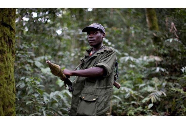Un soldat du FDLR, pris en photo par un photographe de Reuters en 2009.