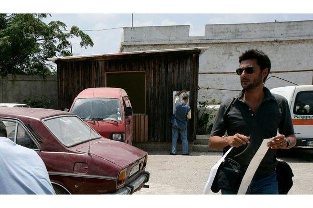Alvaro Canovas, lors d'un précédent reportage au Liban.