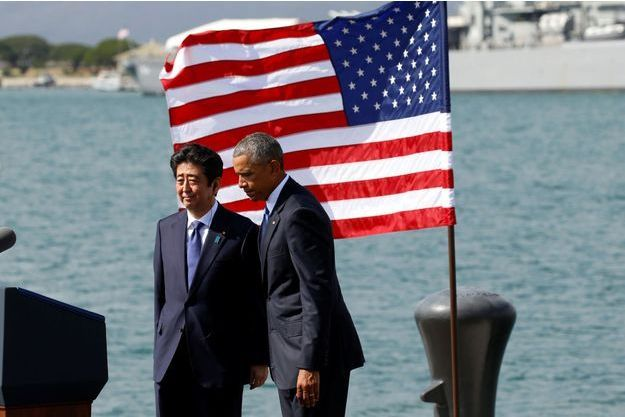 Barack Obama et Shinzo Abe