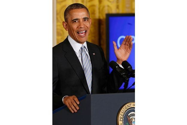 Barack Obama lors d'une conférence pour «Opportunity of all»