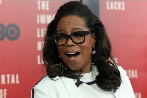 L'animatrice américaine Oprah Winfrey, en avril 2017.