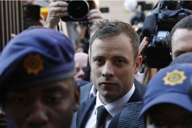 Oscar Pistorius, vendredi.