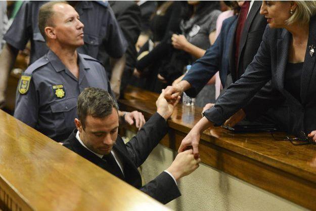 Oscar Pistorius le jour de sa condamnation, en octobre dernier.