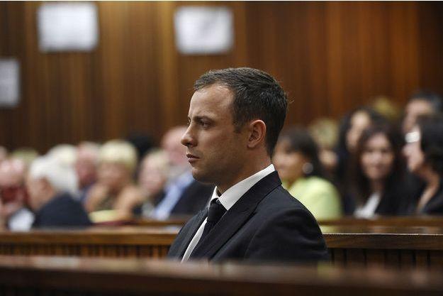 Oscar Pistorius au tribunal de Pretoria, ce 11 septembre 2014.