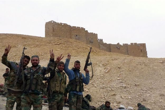 La cité antique de Palmyre a été reprise par l'armée syrienne à Daech.