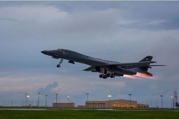 Deux B-1B Lancers ont été déployés au-dessus de la péninsule coréenne pour une démonstration de force face à Pyongyang (image d'illustration).