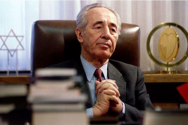 Shimon Peres en 1994